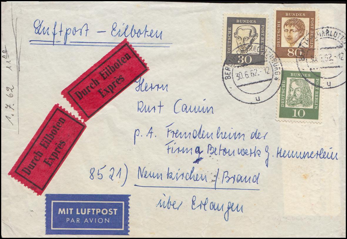 bayern postkarte wappen 5 pfennig kaiserslautern 5 9 nach berlin 7 philatelie dietrich. Black Bedroom Furniture Sets. Home Design Ideas