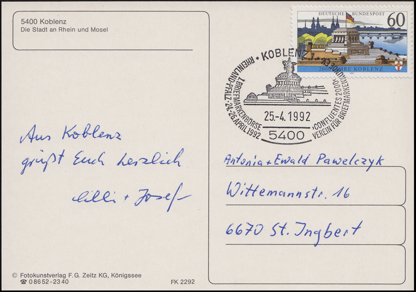 Architecture 1965 Nördlingen Ef Brief Sst Nördlingen Historisches Stadtmauerfest 19.9.1998 Topical Stamps