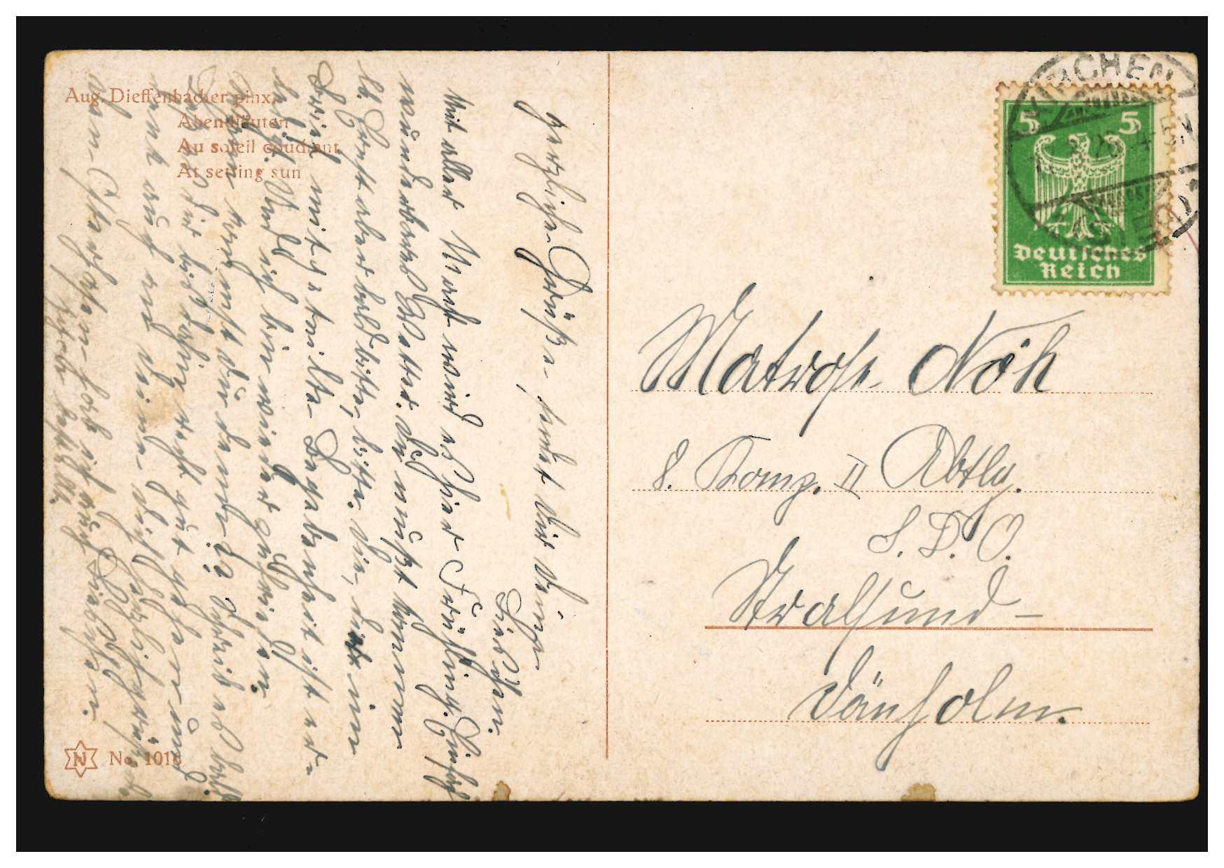 Briefe Nach Indien : Indien nach london über bombay ef wellington juli