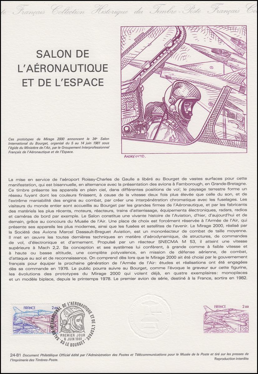 Collection historique salon de l 39 aeronautique et de l - Salon de aeronautique ...