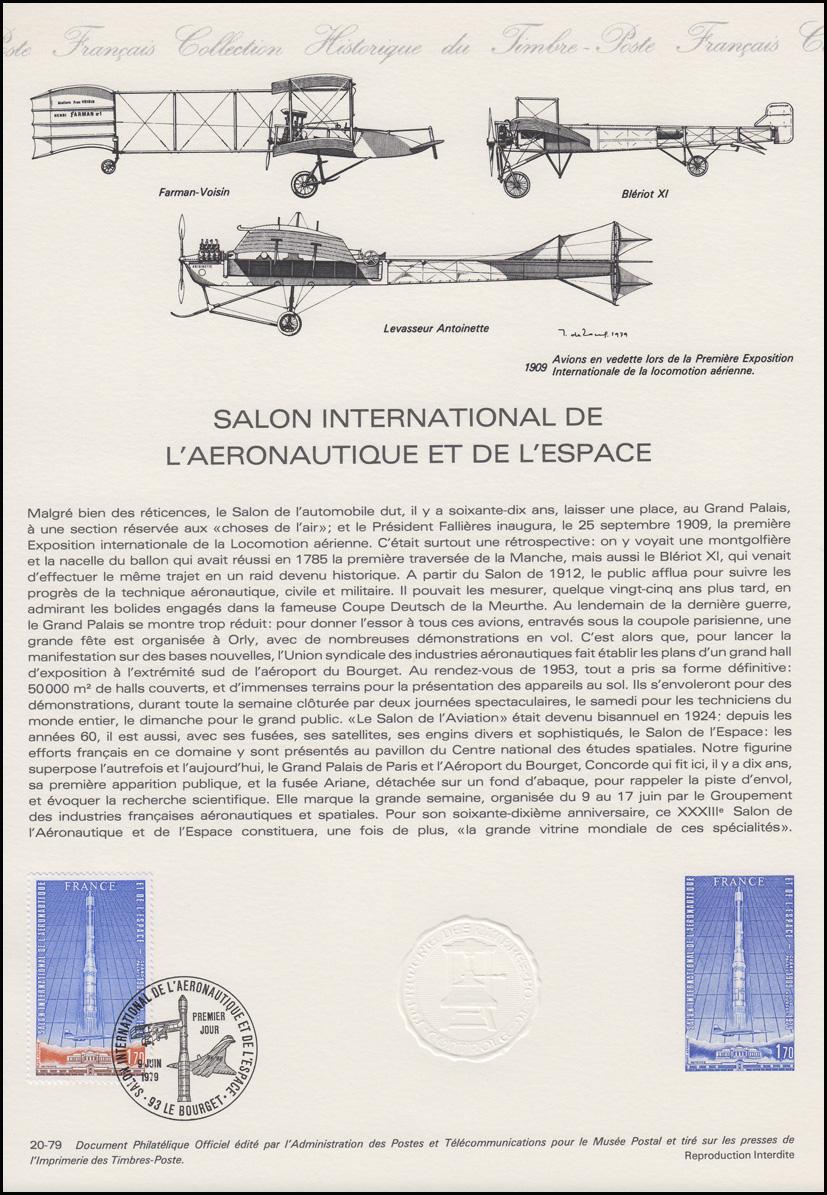 Collection historique salon international de l - Salon international de l aeronautique et de l espace ...