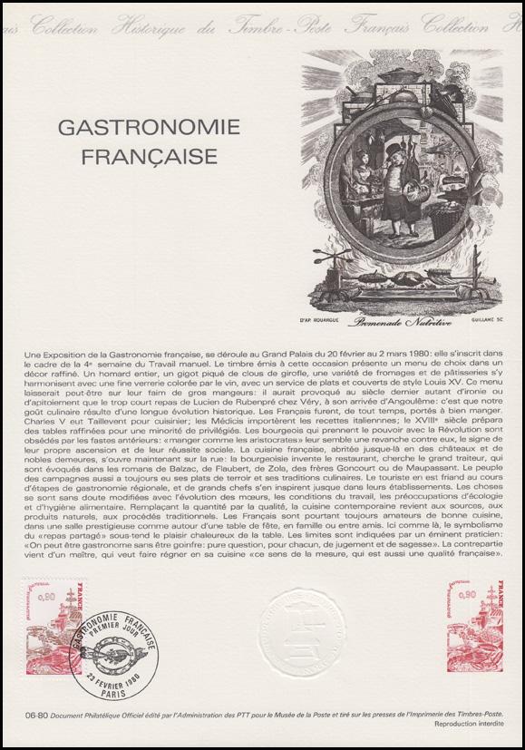 collection historique gastronomie fran aise gastronomie und k che 1980 ebay. Black Bedroom Furniture Sets. Home Design Ideas