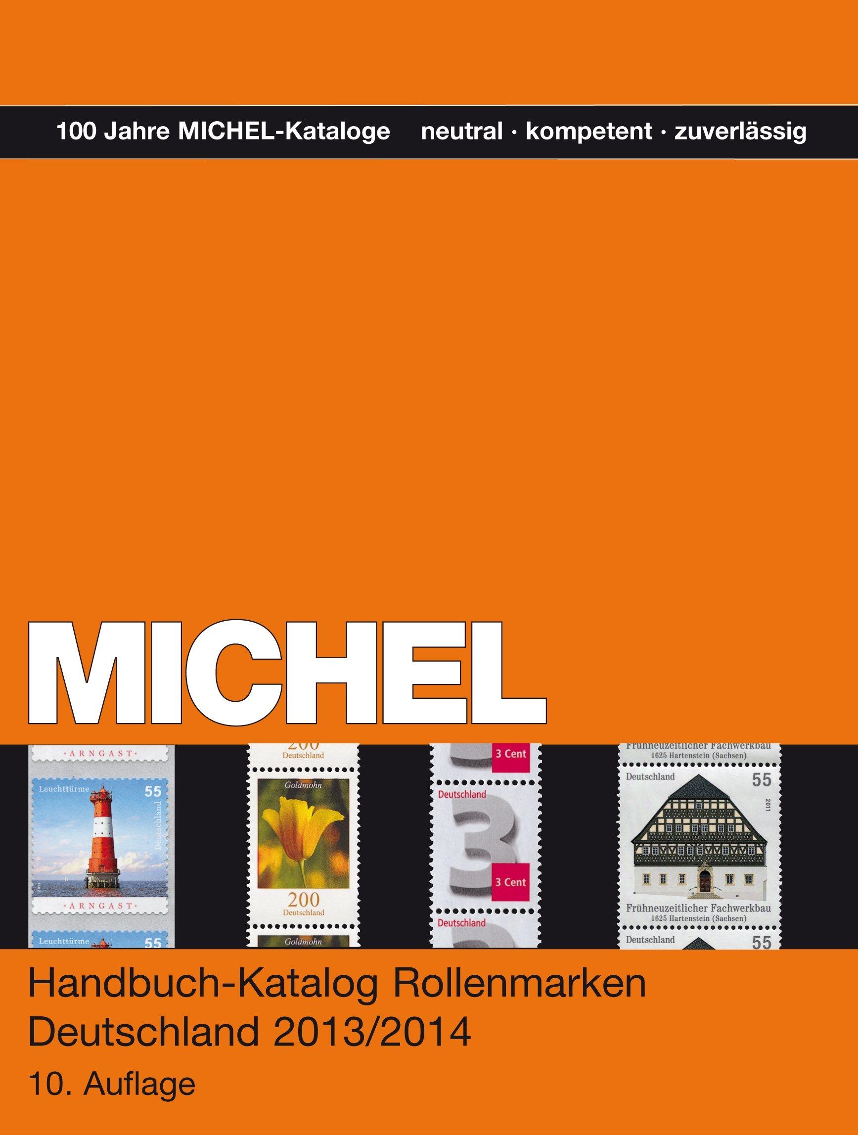 michel handbuch katalog rollenmarken deutschland 2013 14. Black Bedroom Furniture Sets. Home Design Ideas