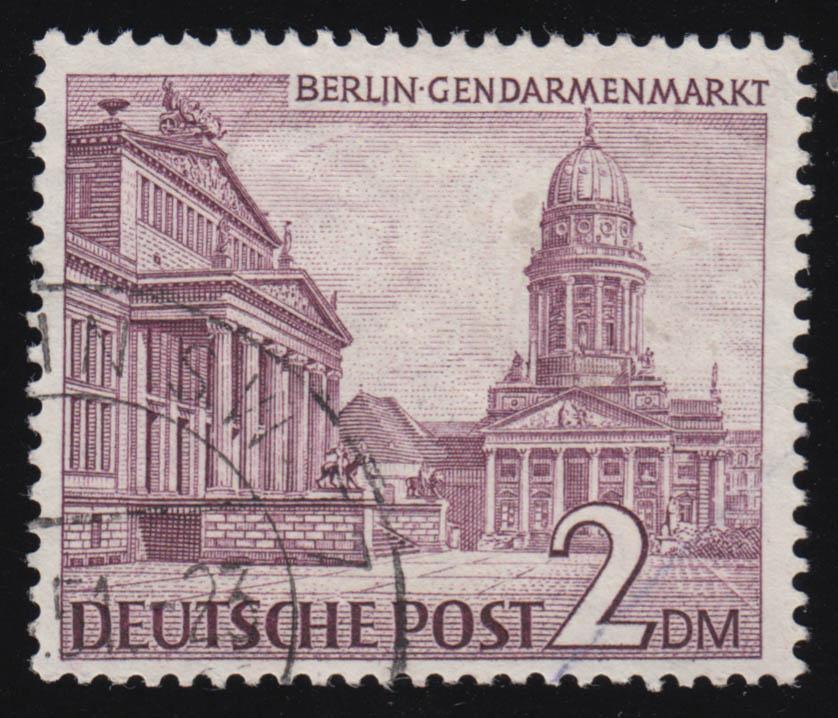 42-60 Berliner Bauten Deutschland Berlin Postfrisch 1949 Minr Briefmarken