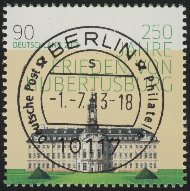 2985i hubertusburg marke mit ungerader nummer ev o berlin philmaster. Black Bedroom Furniture Sets. Home Design Ideas