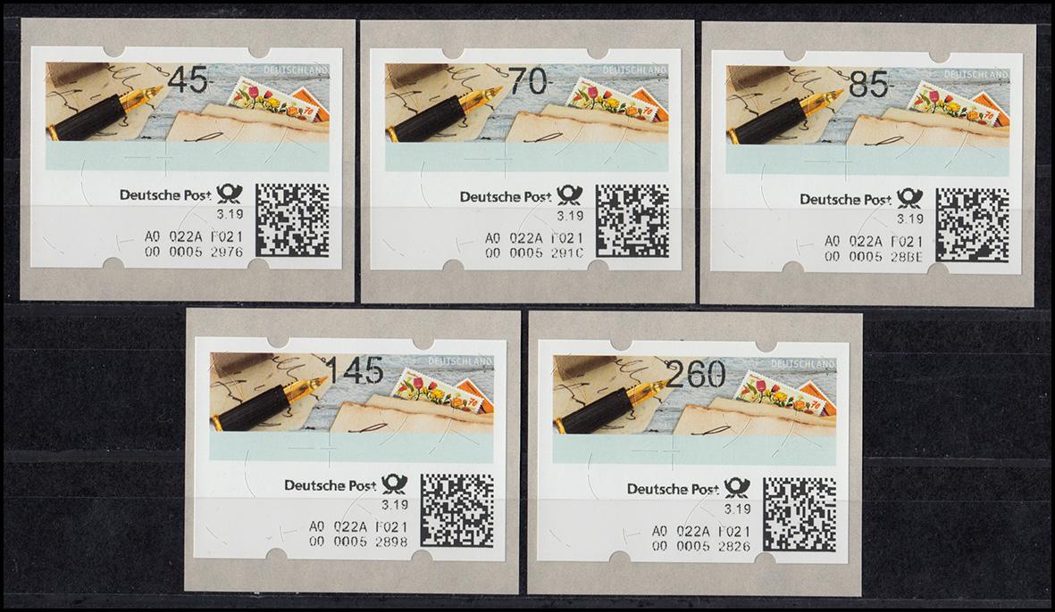 ATM Versuchsausgabe der Deutschen Post