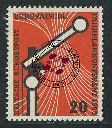 Briefmarken Intellektuell 219 Fahrplankoferenz O Gestempelt Produkte HeißEr Verkauf