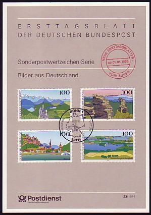 etb vorl ufer v 23 1994 bilder aus deutschland 1994 philatelie dietrich. Black Bedroom Furniture Sets. Home Design Ideas