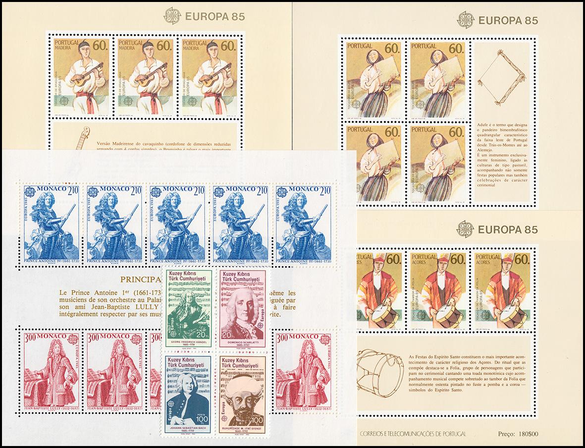 Postfrisch 1980 Bedeutende Persönlichkeiten kompl.ausg. Dänemark 699-700