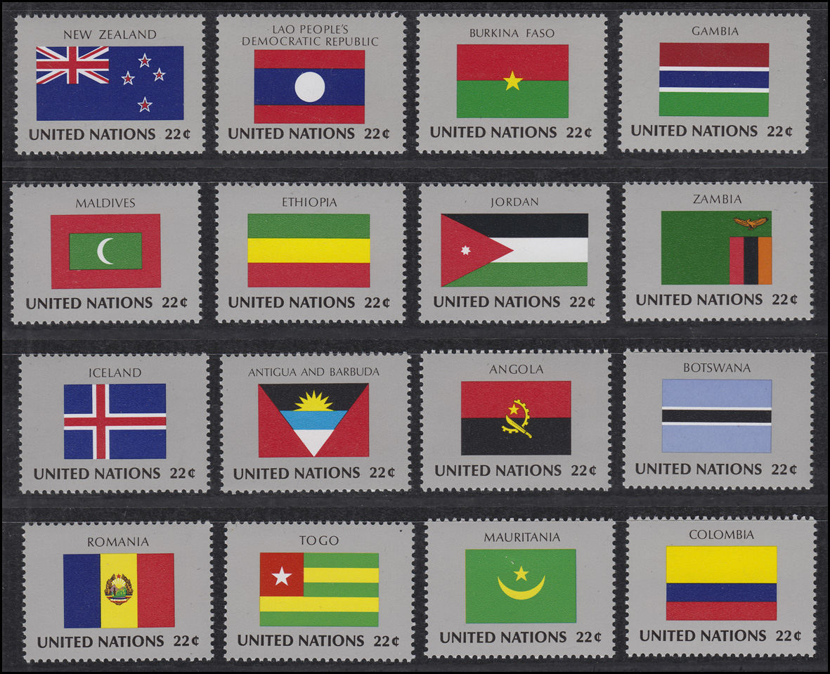 Temperate Jordanien 501-506 A Und B Postfrisch Other Asian Stamps