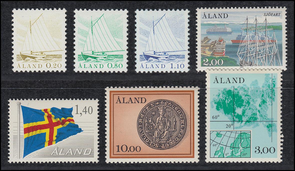 Briefmarken Postfrisch Jahresmappe 1992 Aland