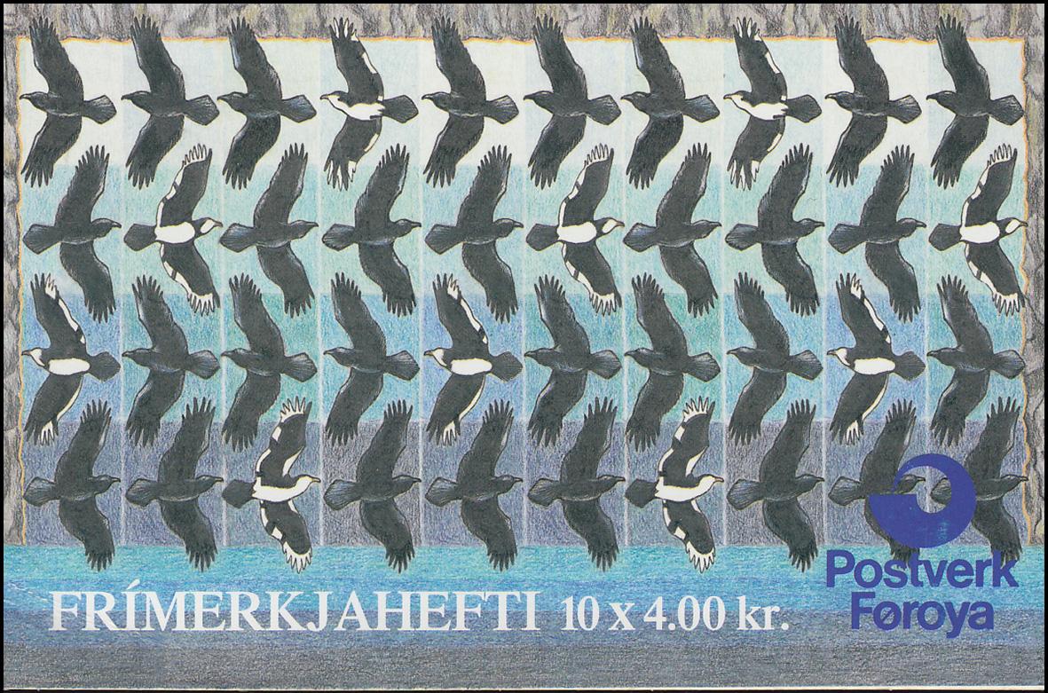 Färöer-inseln Markenheftchen 9 Färöer-rabe Briefmarken ** Postfrisch
