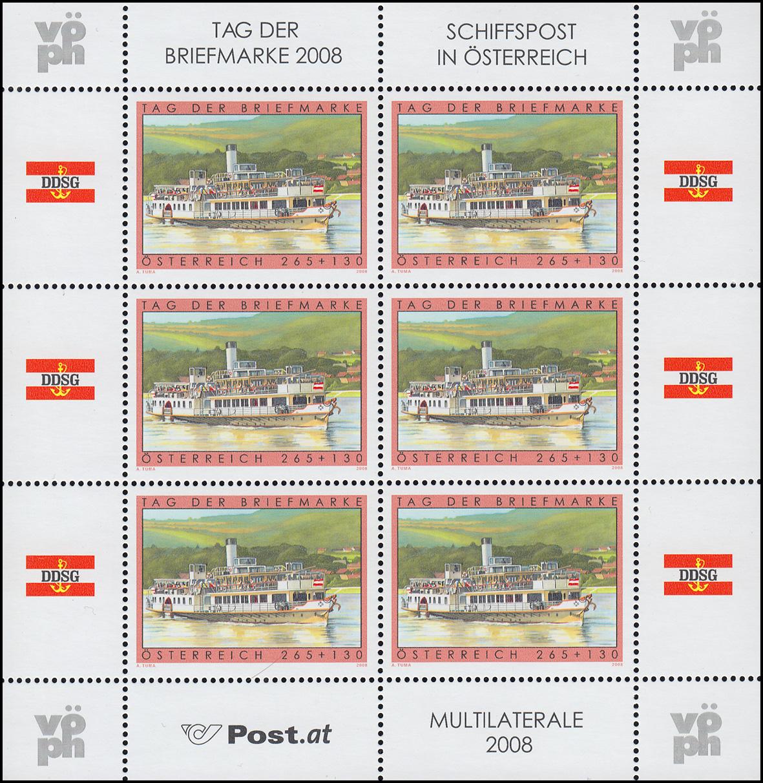 Österreich == Österreich == 2006 Kleinbogen Tag Der Briefmarke Postfrisch== 2019 Official