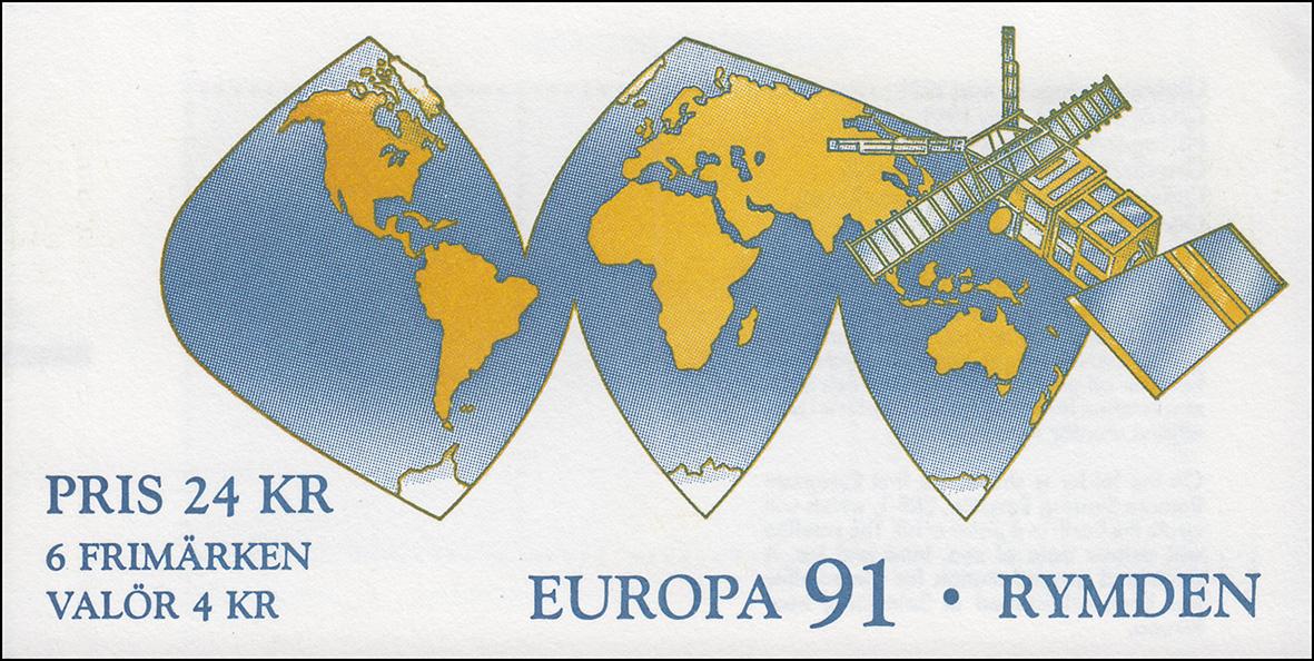 ** Europa Schweden Markenheftchen 138 Kulturzentrum Globen