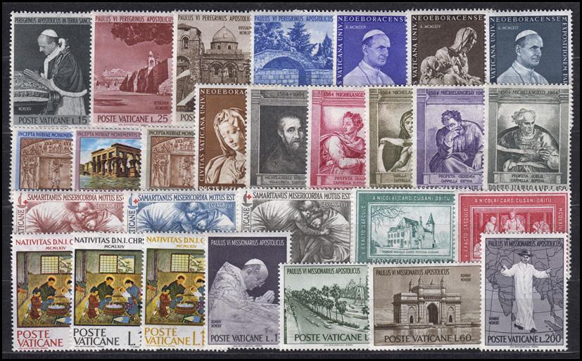 Vatikan Jahrgang 2004 Komplett Postfrisch ** Vatikan